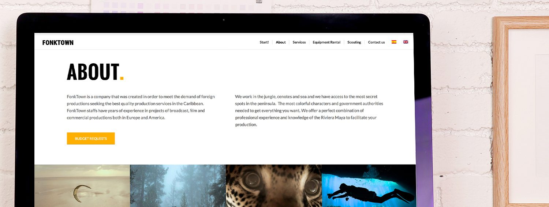Diseñador web en valencia Fonktown