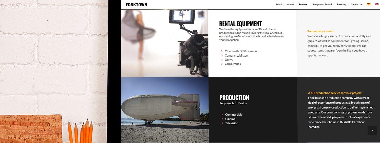 Diseño web en valencia de FonkTown